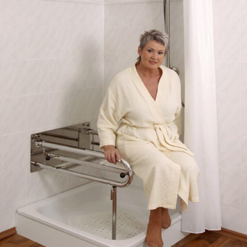 Basis Duschrollsitz